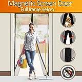 ALTMAN Magnetic Screen Door Heavy Duty Magic Mesh Curtain Screen and Full Frame