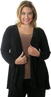 product image for Vikki Vi Women's Plus Size Swing Cardigan Jacket