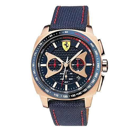 Ferrari Mens Watch Analog Casual Quartz Watch 0830293