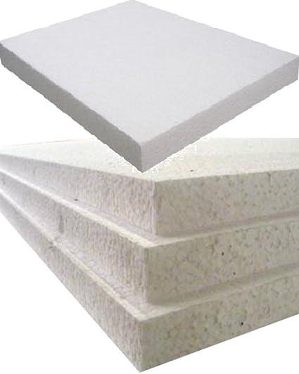 12 Color blanco espuma de poliestireno rígido labelheaven tableros tamaño losas - 2400 mm de largo