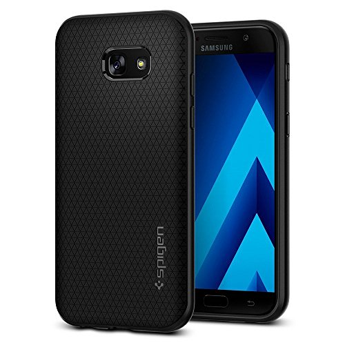Spigen Liquid Air Galaxy A5 2017 Case with Durable Flex and Easy Grip Design for Samsung Galaxy A5 (2017) - Black