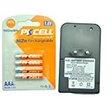 Rechargeable AAA NiZn 1.6V 900mWh 4PCS