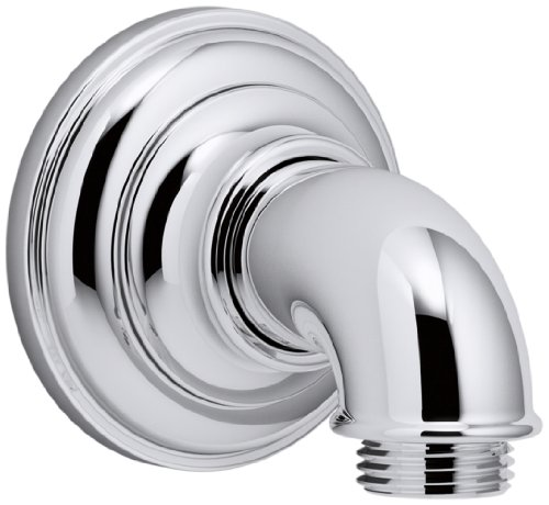 KOHLER K-72796-CP Artifacts Wall-mount supply elbow, Polished Chrome
