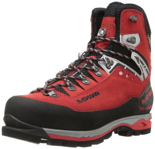Lowa Men's Mountain Expert Goretex EVO Hiking Boot,Red/Black,9.5 M US