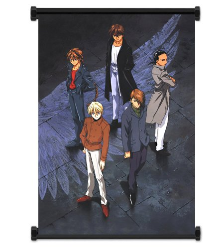 Mobile Suit Gundam Wing Anime Fabric Wall Scroll Poster  Inc