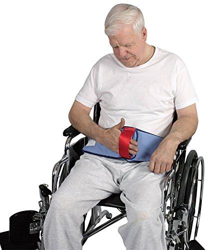Restraint-Free Cushioned Lap Belt - Wheelchair Lap Cushion
