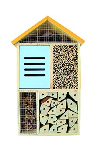 Nature's Way Bird Products CWH8 Better Gardens Deluxe Beneficial Insect House, 5 Chamber by Nature's Way Bird Products