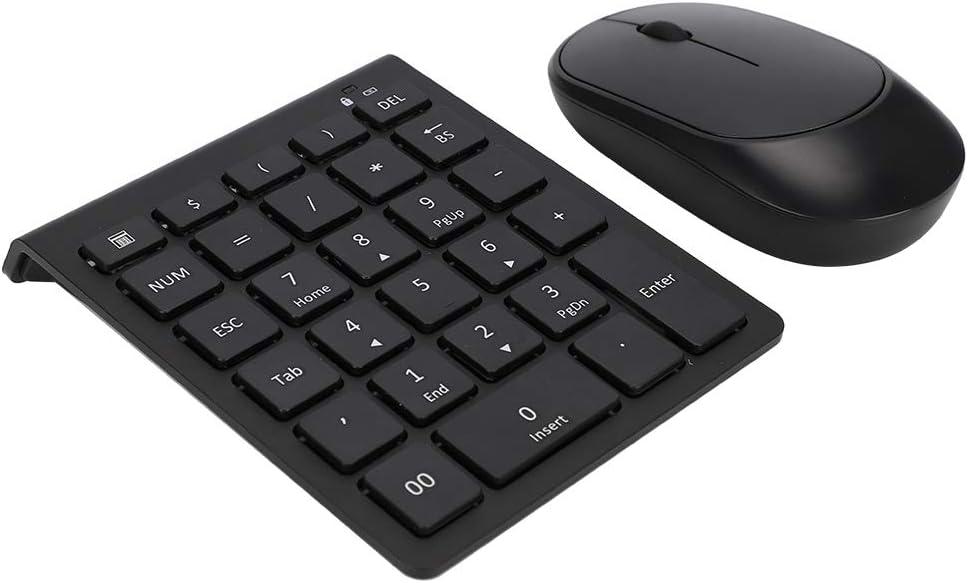 Juego de teclado y mouse numéricos inalámbricos Bluetooth ...