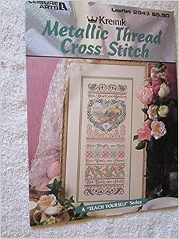 Amazon com: Kreinik Metallic Thread Cross Stitch Leisure