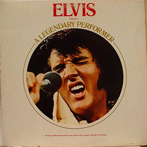 Legendary Performer - Elvis A Legendary Performer Volume 1 LP NM/NM