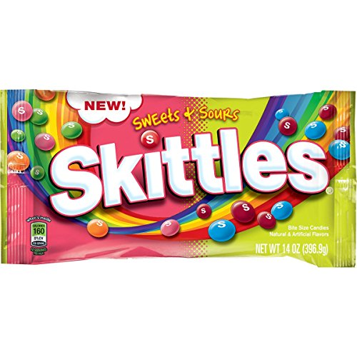 Skittles Sweets Sours Candy ounce product image