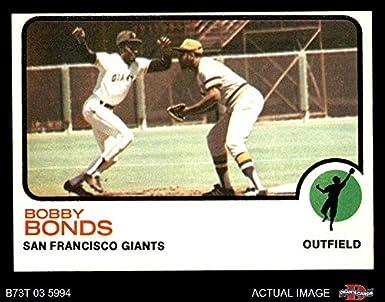 Amazoncom 1973 Topps 145 Bobby Bonds San Francisco