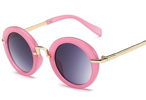 Famyfirst Retro - Gafas de sol redondas para niños, gafas de ...