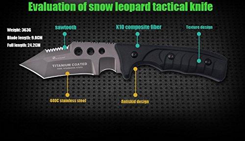 Amazon.com: HX Nieve Leopard tácticas al aire libre alta ...