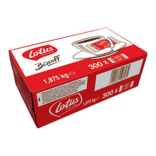 Lotus Biscoff, 300 x 1 Stück, 1er Pack (1 x 1,875 g)