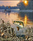 REAL TREE COTTON FISHING PANEL BY SYKEL-REAL TREE TROUT PANEL-SOLD BY THE PANEL Review