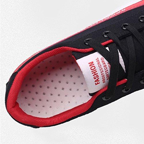 Nuevos Planos De Yananhome Primavera Deportes Hombres Lona Brincan Red Estilo alpargatas La Zapatos Hombre Salvajes Casuales Los Del Para nxqwCPXfrq