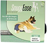 Integrated Pet Solutions SnuggEase Washable Dog Diaper, Medium