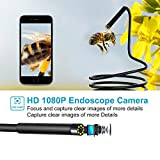 Wireless Endoscope Camera, Baqsoo 2.0 MP 1080P HD
