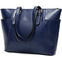 Women Tote bag leather handbags Satchel purse Shoulder Bags with Zipper for Ladies