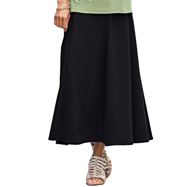 fea9a47bcf6 TravelSmith Women s Misses   Plus Size Indispensable Travel Skirt at Amazon Women s  Clothing store