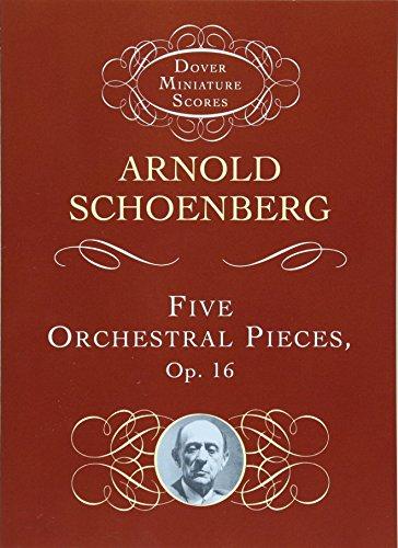 (Five Orchestral Pieces (Dover Miniature Music Scores))
