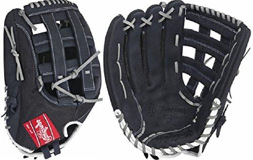 Rawlings  Renegade Series Pro Mesh Back Glove, Black, 15