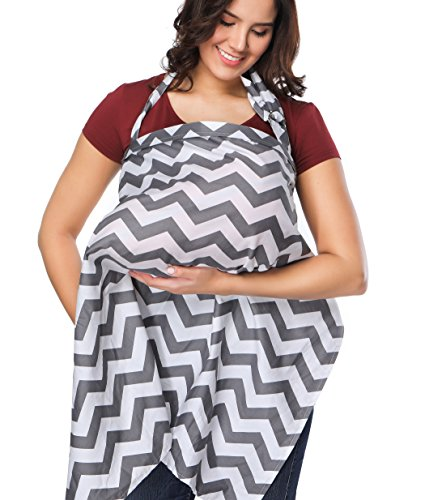Nursing Cover Full Coverage Cotton Breathable Nursing Apron Complimentary Pouch Breastfeeding Pouch Cover