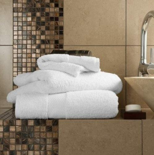 Pair Of Bath Sheets Egyptian Cotton 700gsm Extra Soft Top Quality Luxury Miami Towels, White Bedding Online BEDDINGONLINE000613