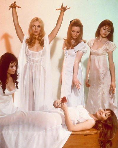 Vampire Lovers Ingrid Pitt Kate O'Mara Pippa Stiffen Madeline Smith 24x30 Poster
