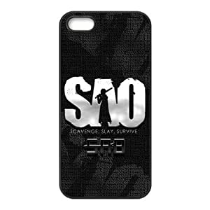 iPhone 5S Protective Case - SAO Hardshell Carrying Case Cover for iPhone 5 / 5S