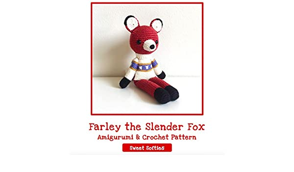 Fox Amigurumi, Mr. Furu - Free Crochet Pattern | Craft Passion | 350x600