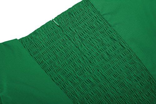 Delle Vestito Spalla Paul Verde Partito Poque Donne Jones Picnic Vestito Fuori Belle Dall'oscillazione ZHqnwIvxTH