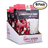 Simple Kitchen Freeze-Dried Strawberries