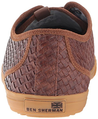 Ben Sherman Mens Chandler Lo Fashion Sneaker Marrone O1b