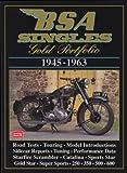 BSA Singles, 1945-63, R. M. Clarke, 185520441X