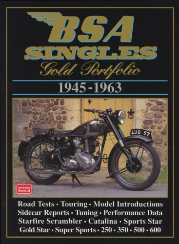 BSA Singles 1945-63 Gold Portfolio