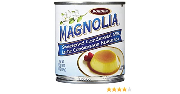 Amazon.com : Magnolia Sweetened Condensed Milk - 14 oz : Grocery & Gourmet Food