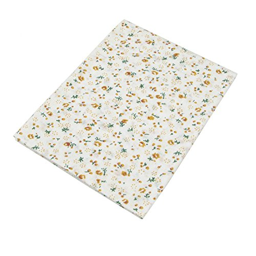 SHENGZE 7PCS 49/cm*49/cm Giallo 100/% Cotone Trapunta Tessuto per Fai da Te Cucito Patchwork Bambini Lenzuola Borse Tilda Baby Doll Panno Tessile Tessuto