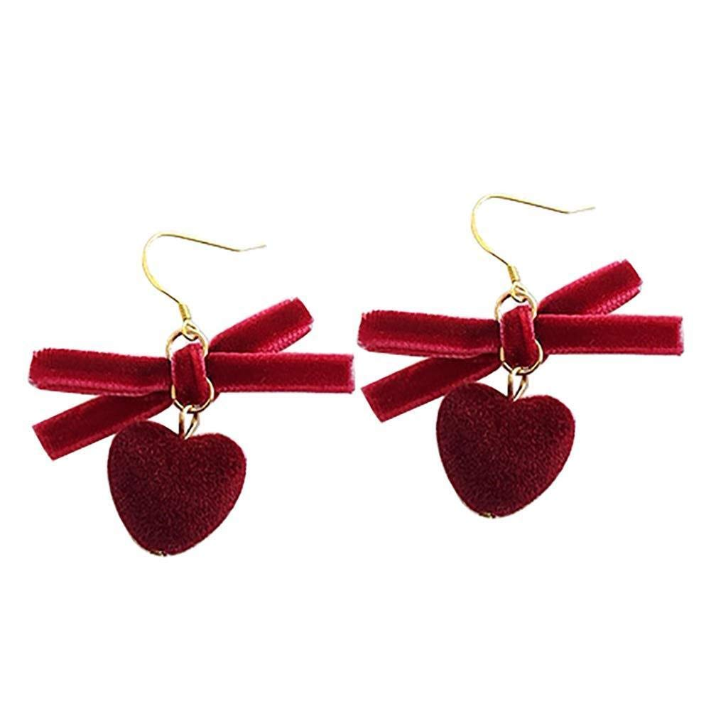 Oldlila 1PCS Women's Pendant Earrings Fashion Ball Cut Earrings, Unique Technical Design Earrings Women's Jewelry (Hairball-4)
