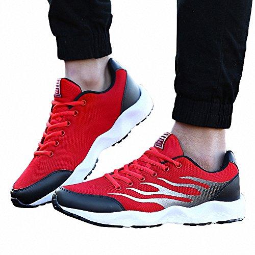 Sports Rojo De Ben Hombre Trail Para Deporte Running Zapatillas TZpdxwCq