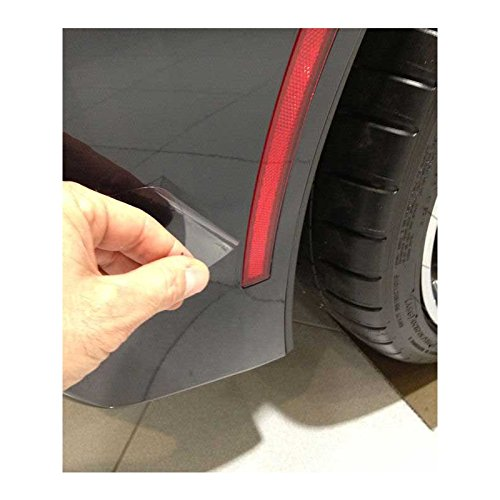 Eckler's Premier Quality Products 25335649 Corvette Cleartastic PLUS Paint Protection Kit For Behind Tires
