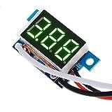 Digital Current Display Module LED Panel Meter Ammeter Gauge Green DC0-9.99A