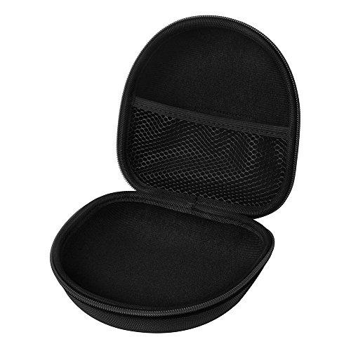 ZXX Hard Shell Headphone Case, Headset Protective EVA Pouch Travel Bag for Marshall Major I/Major II/Bluetooth On-Ear Headphones (Black)