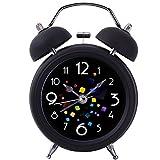 Twin Bell Alarm Clock,Drillpro 4'Bedside Loud Alarm...