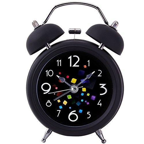 [Twin Bell Alarm Clock,Drillpro 4