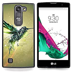 - Mechanic Colibri Bird/ Hard Snap On Cell Phone Case Cover - Cao - For LG Volt 2 / LG G4 Mini (G4c)