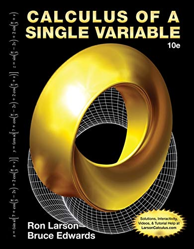 Student Solutions Manual for Larson/Edwards' Calculus of a Single Variable, 10th Edition -  Ron Larson, Paperback