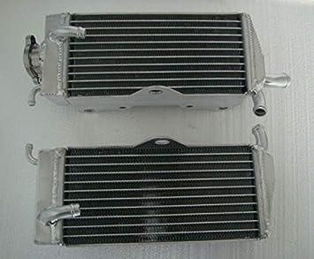 For HONDA CR125R//CR125 90 91 92 93 94 95 96 97 aluminum radiator /& silicone hose