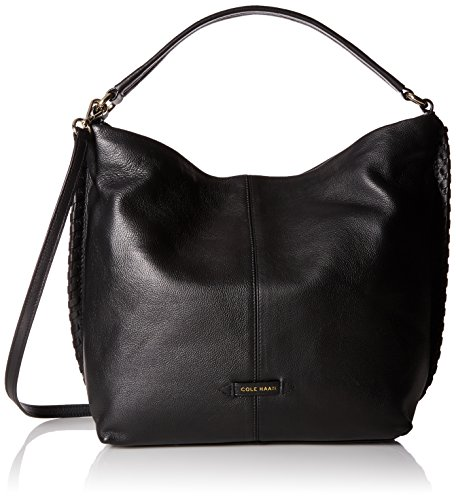 ADDEY II DOUBLE STRAP HOBO, BLACK by Cole Haan